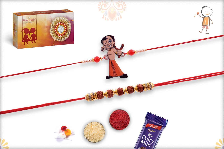 Two Set Rakhi | Send Rakhi Gifts Online 1