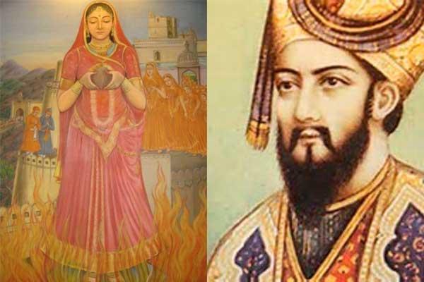 Queen Karnavati and Humayun - Babla Rakhi