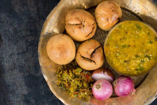 Rajasthani food Dal Bati