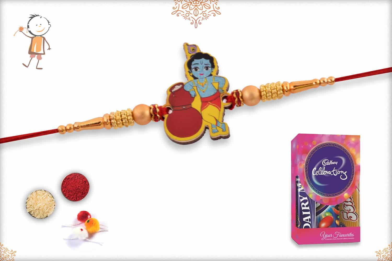 Kids Rakhi with Cadbury Celebrations (Small) 1