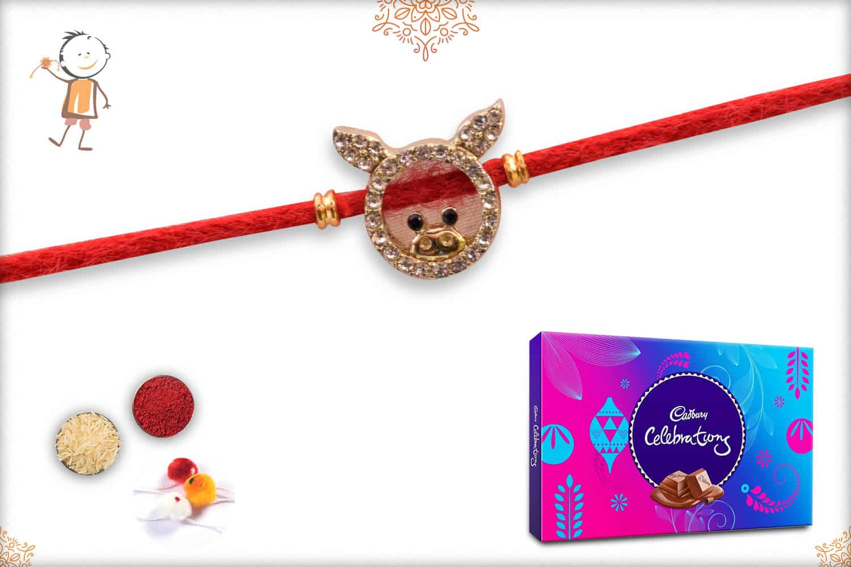 Kids Rakhi with Cadbury Celebrations (Big) 1