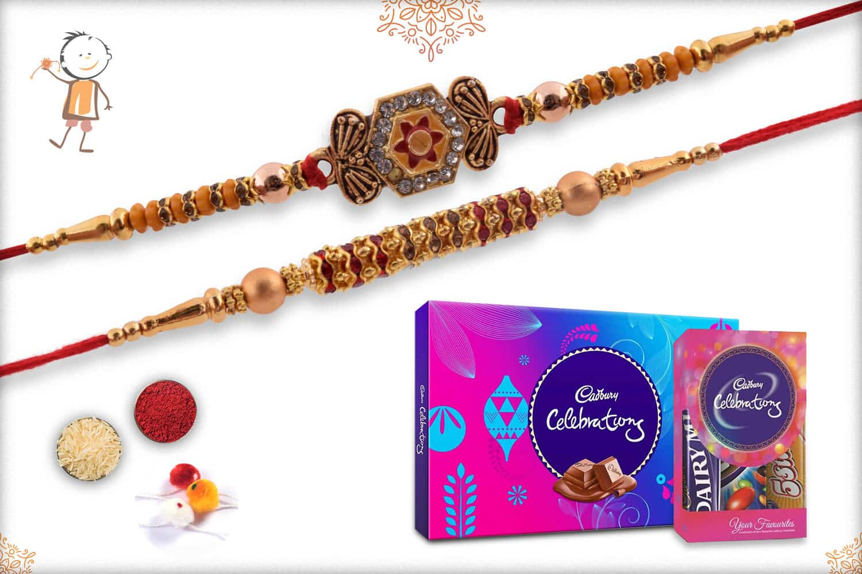 Rakhi with Cadbury Celebrations (Small + Big) 1