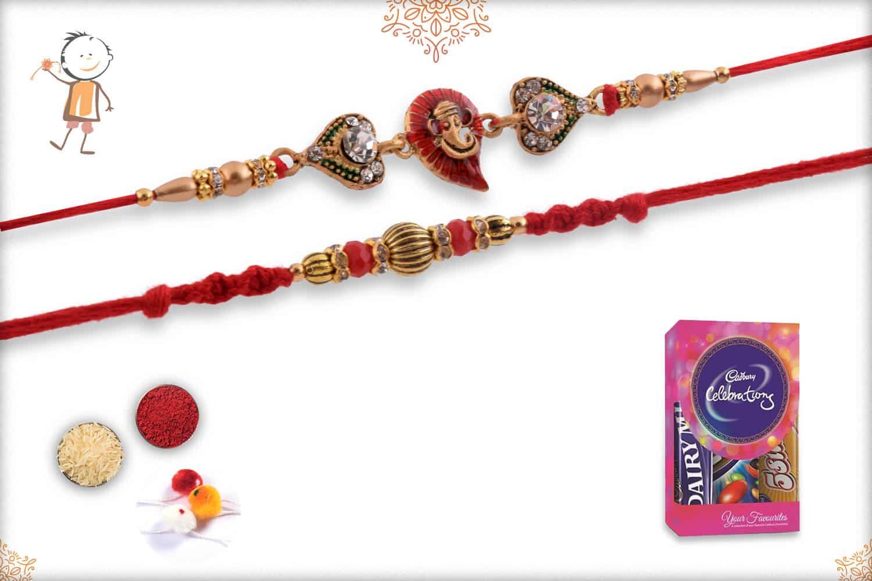 Rakhi with Cadbury Celebrations (Small) 1
