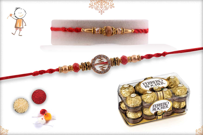 Rakhi with Ferrero Rocher (16) 1