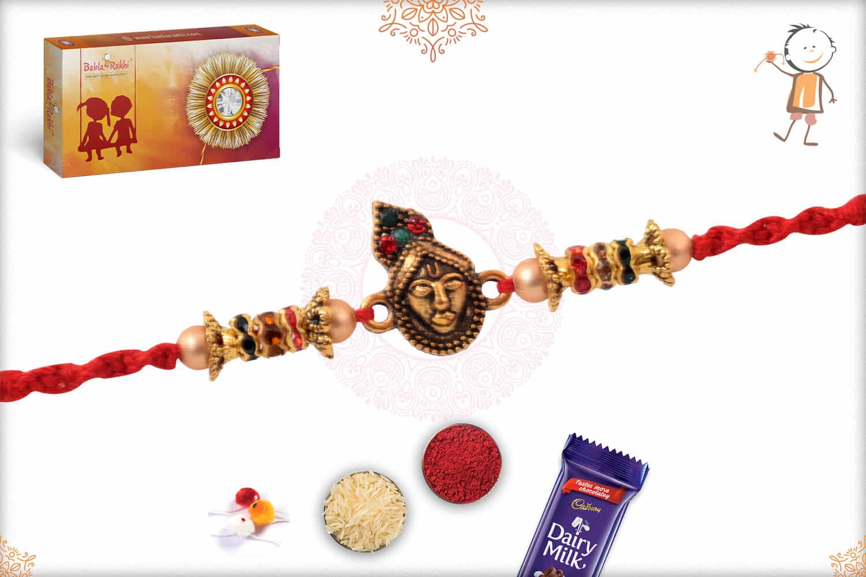Divine Shreenathji Diamond Rakhi 2