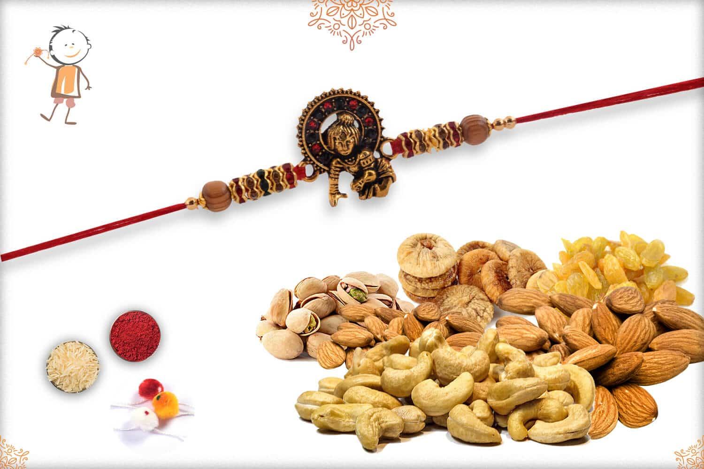 Rakhi With Badam-Kaju-Pista-Kismis-Anjeer (500gm) 1