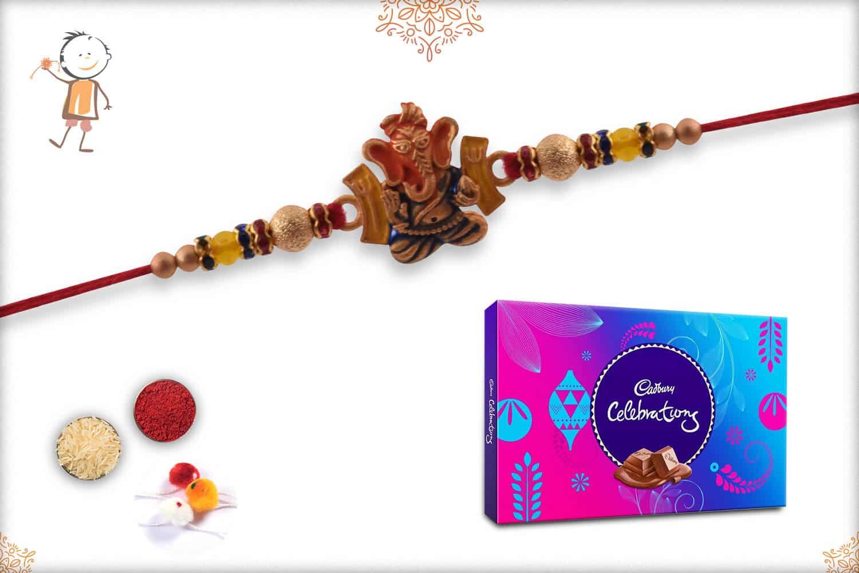 Rakhi with Cadbury Celebrations (Big) 1