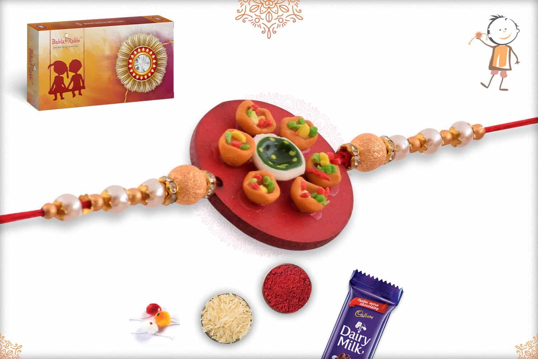 Pani Puri Food Rakhi 2