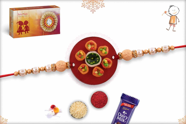 Pani Puri Food Rakhi 1