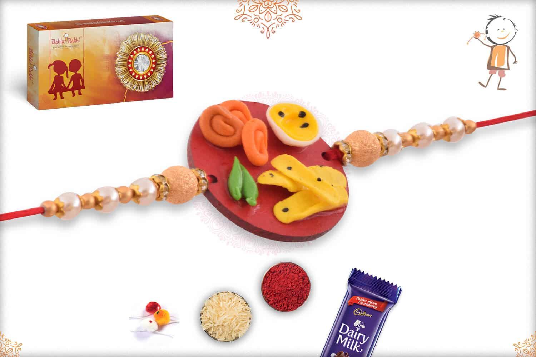Fafda-Jalebi Food Rakhi 2