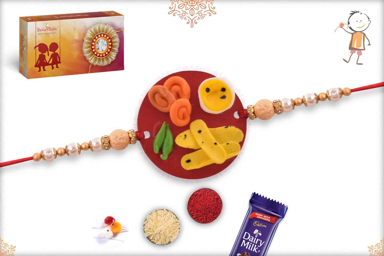 Fafda-Jalebi Food Rakhi 1