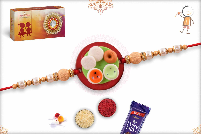 Idli-Medu Vada Food Rakhi 1