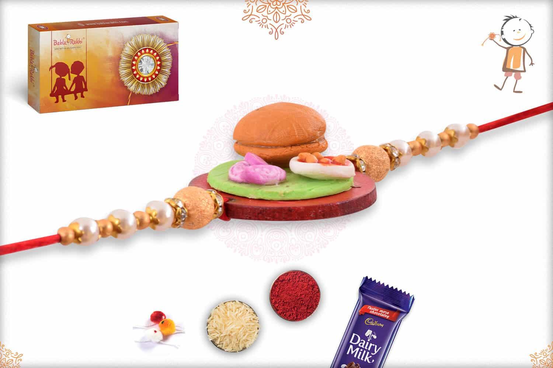 Burger Food Rakhi 3