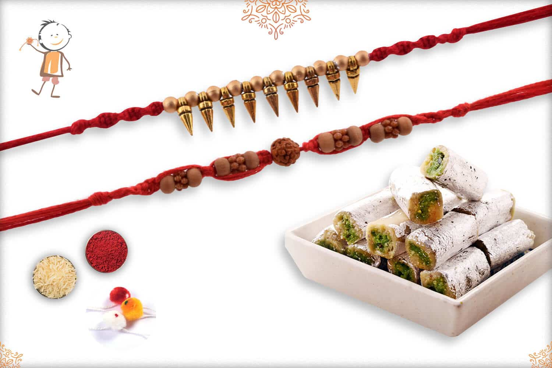 Rakhi with Fresh Pista Roll (300gm) 1