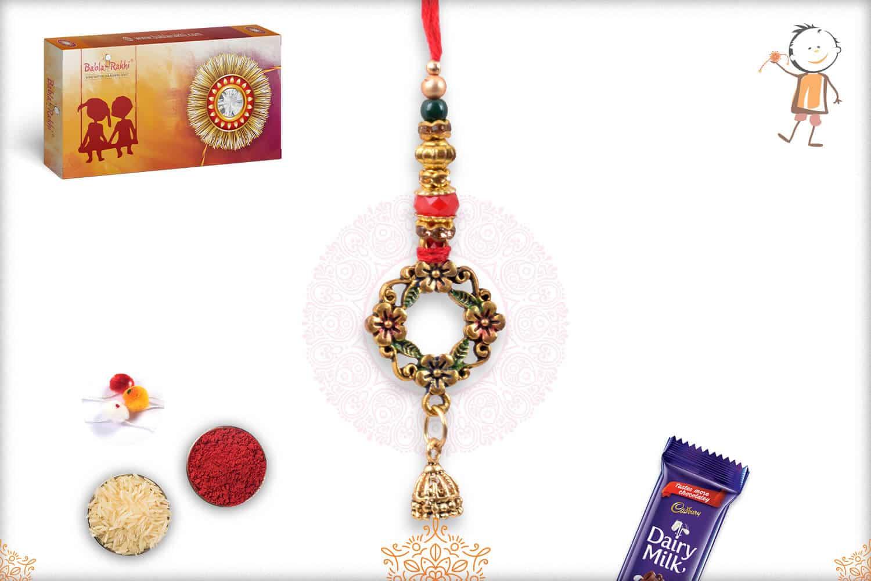 Premium Flower Bhabhi Rakhi 1