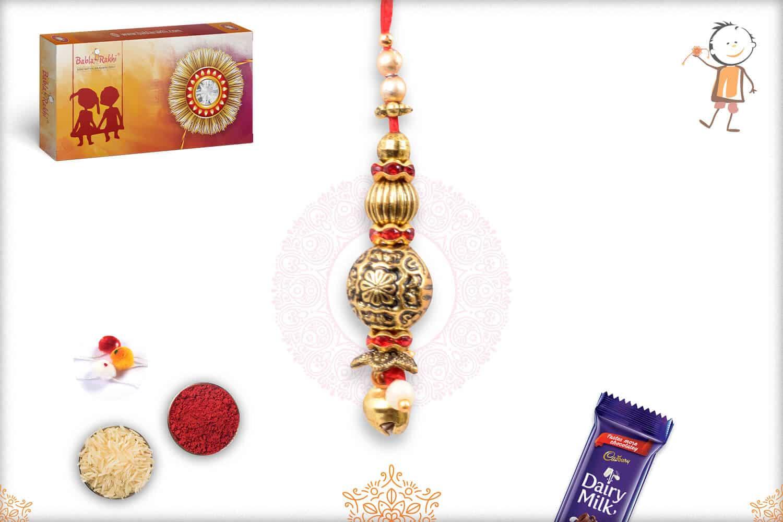 Unique Beads Bhabhi Rakhi 1