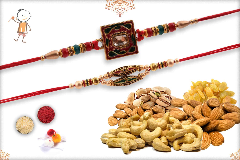 Rakhi With Badam-Kaju-Pista-Kismis (400gm) 1