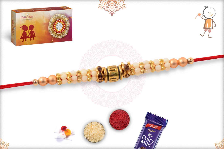 Simple Beads Rakhi 2