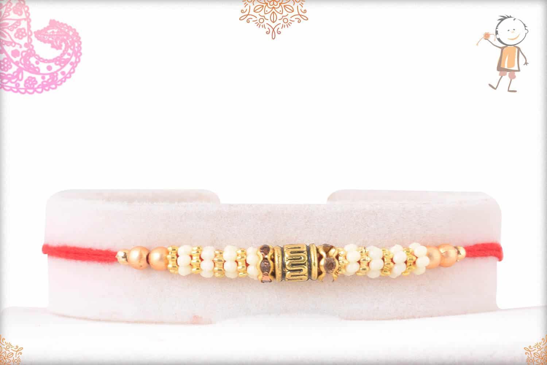 Simple Beads Rakhi 1