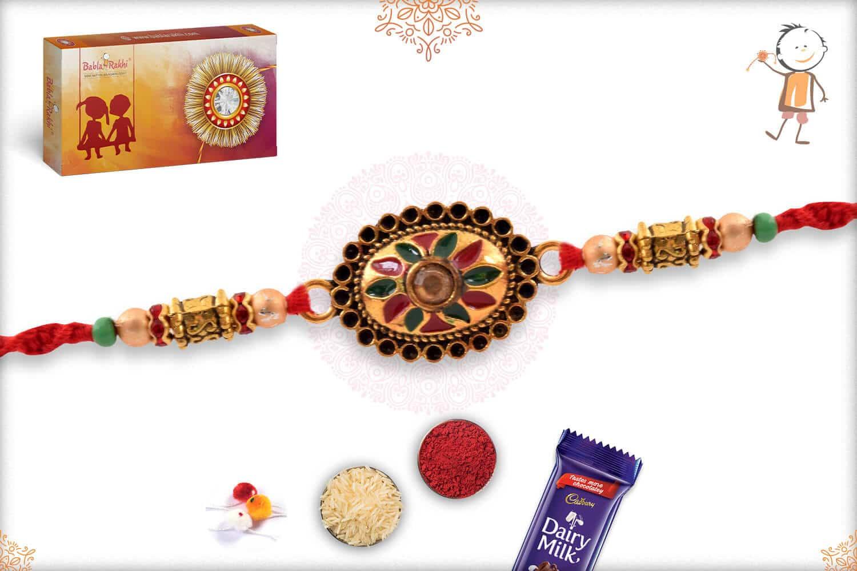 Designer Handcrafted Mauli Rakhi 2