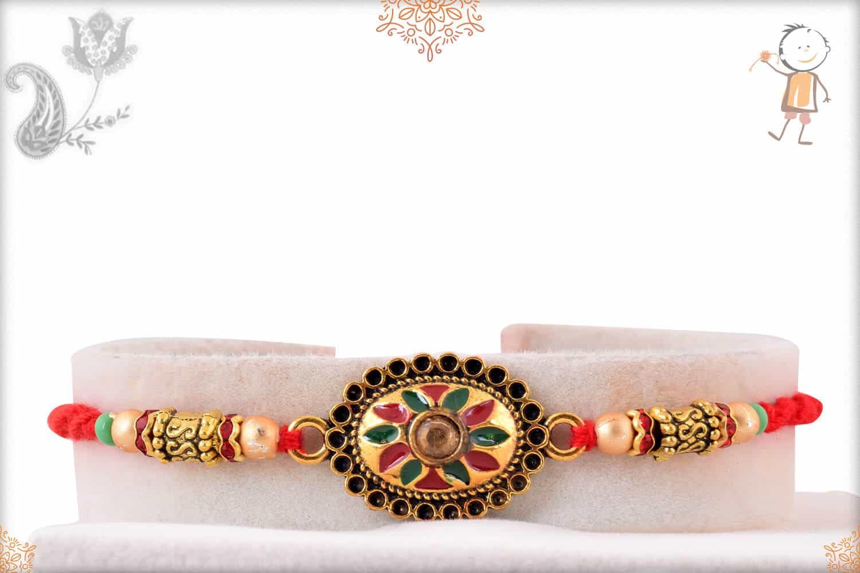 Designer Handcrafted Mauli Rakhi 1